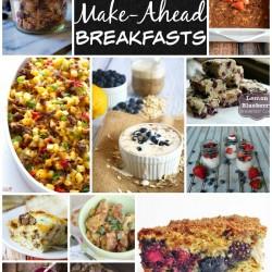 Twenty-Three Easy Make-Ahead Breakfasts