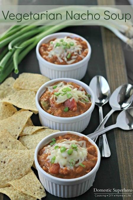 Vegetarian Nacho Soup 1