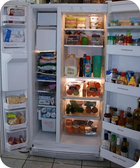 Home Organization Fridge