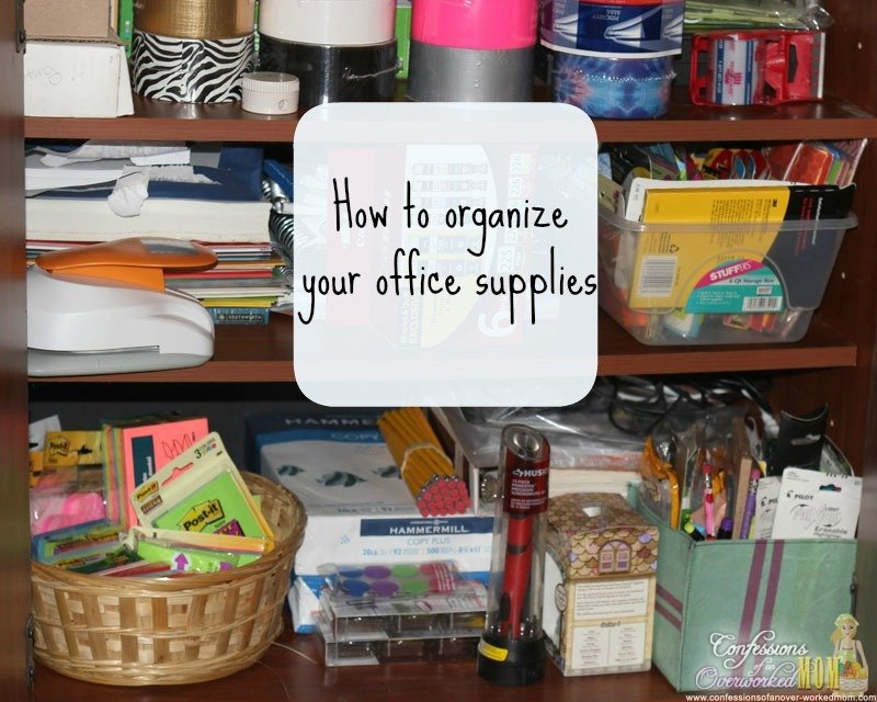 How To Organize Your Office Entrancing With How to Organize Your Home Office Photo
