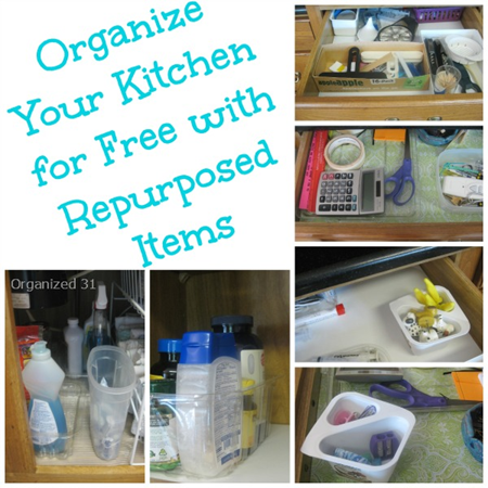 Kitchen Home Organization Tips