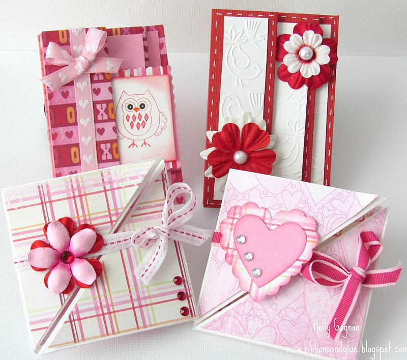 10 - Trifold Valentines Day Card