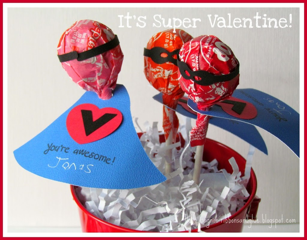 11 - Super Hero Valentine