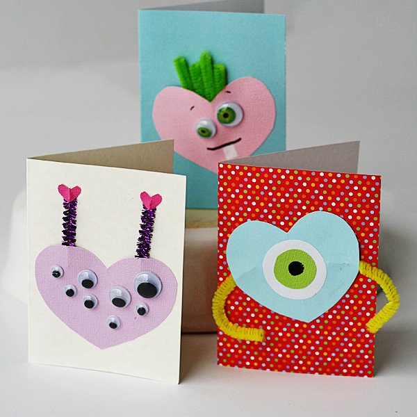 12 - Monster Valentines Day Cards
