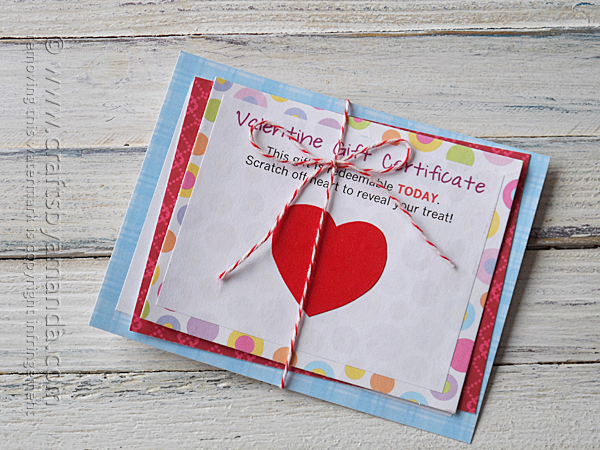 13 - Scratch Off Valentines Day Cards
