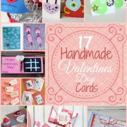 17 Handmade Valentines Day Cards