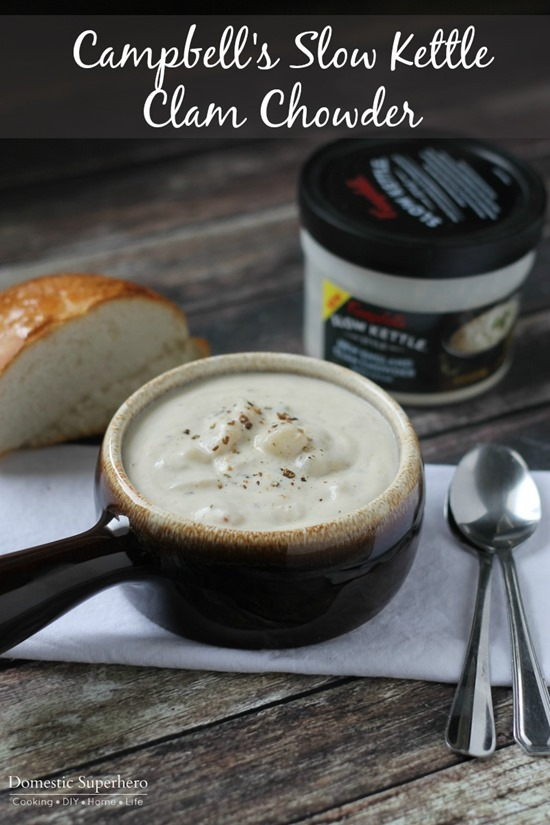 Campbell's Slow Kettle Clam Chowder