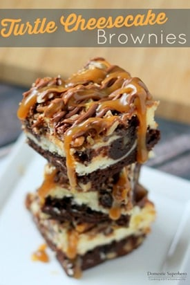 Turtle Cheesecake Brownies 2