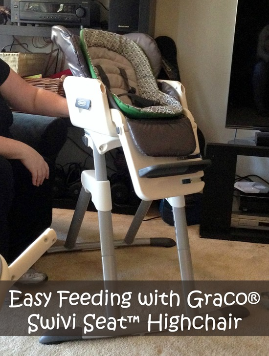 Easy Feeding With Graco Swivi Seat Highchair