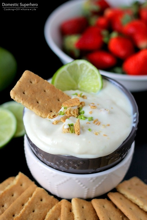 Key Lime Pie Dip - cool creamy tangy key lime pie dip has all the ...