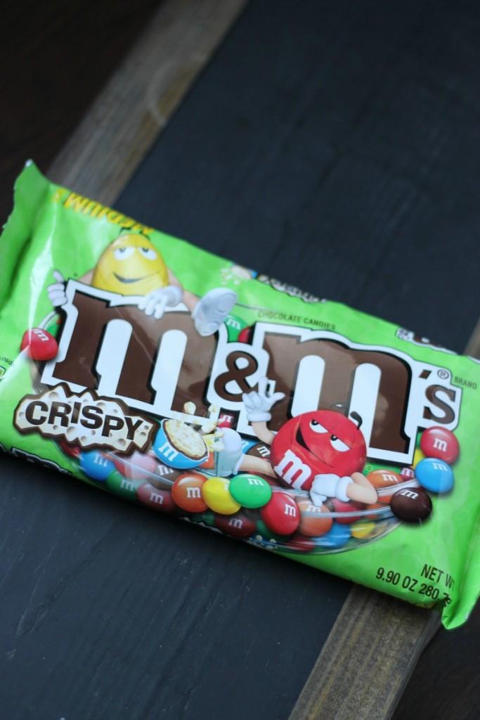 M&M's Crispy Pretzel Bark 2