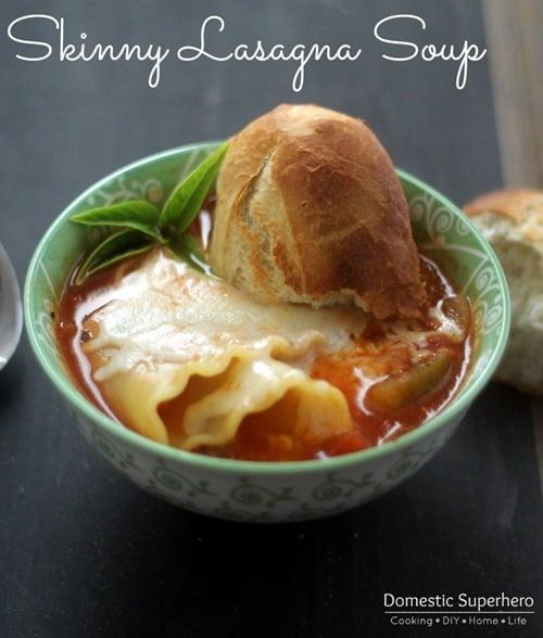 Skinny Lasagna Soup 1