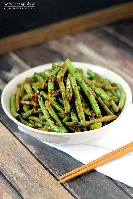 Copycat PF Chang's Spicy Green Beans - this is the best copycat recipe ...