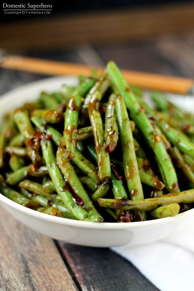 40f67adf0571ae This is the best Copycat PF Chang s Spicy Green Beans recipe and perfect as  a side