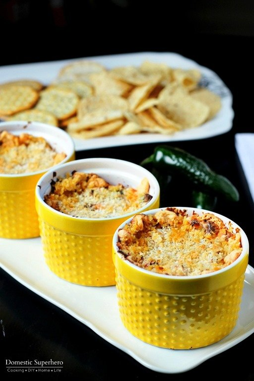 Jalapeno Popper Dip - Domestic Superhero