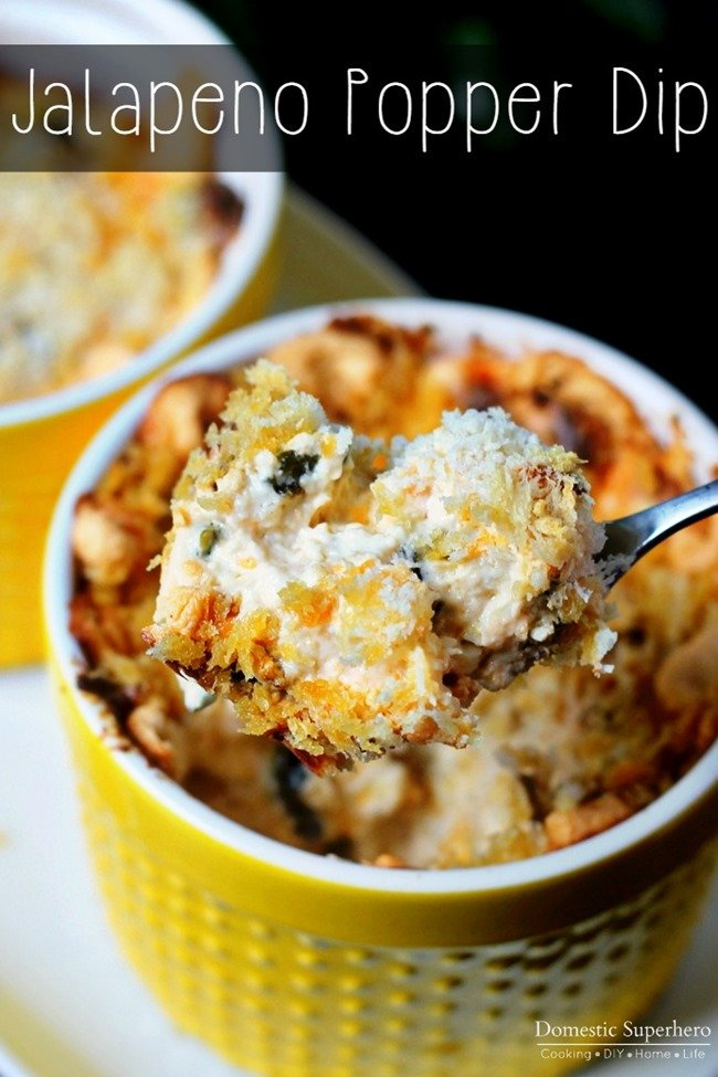 Jalapeno Popper Dip - The perfect party, potluck, and anytime dip!
