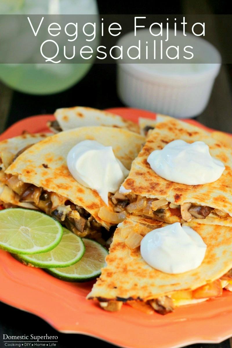 Fajita Veggie Quesadilla (1)