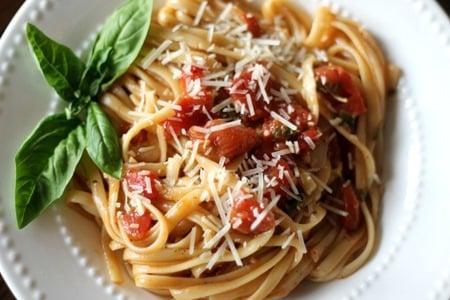 One Pot Wonder Tomato Basil Pasta 6