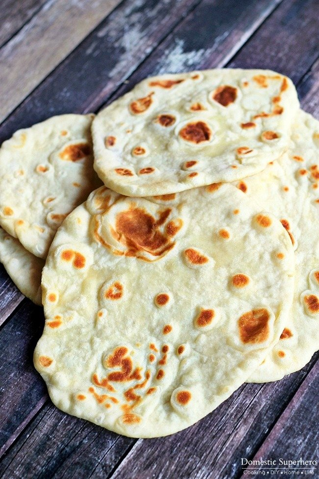 Homemade naan domestic superhero homemade naan this is the easiest and quickest bread recipe you will ever make forumfinder Gallery