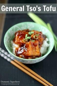 General Tso's Tofu 1