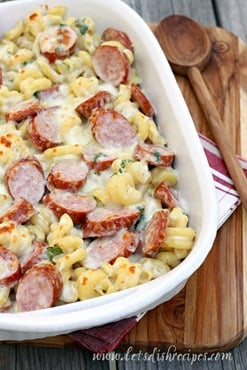 Spicy-Smoked-Sausage-Alfredo-Bake