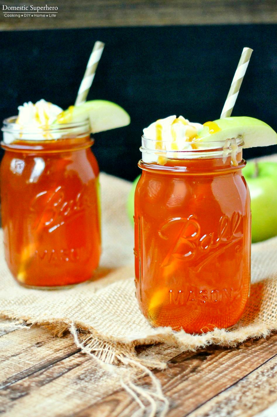 Set it and forget it! This Caramel Apple Cider made in the slow cooker has only 3 ingredients, will leave your house smelling amazing, and warms your soul.