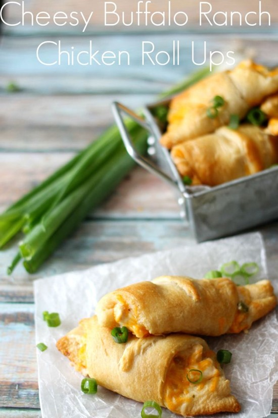 Cheesy-Buffalo-Ranch-Chicken-Roll-Ups-the-perfect-easy-dinner