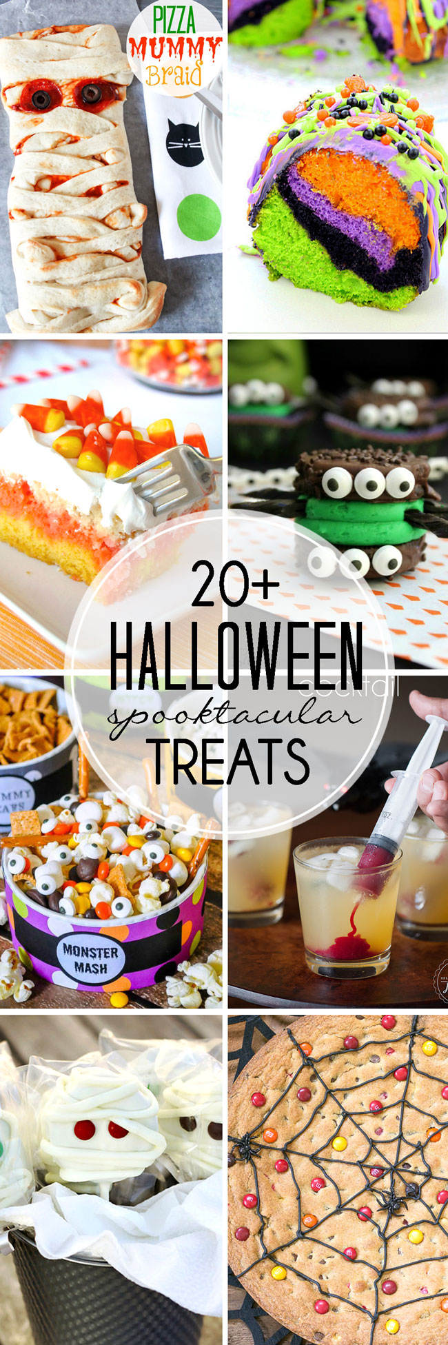 20+ Halloween Treats - spooky desserts, dips, and even a main dish!