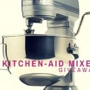KitchenAid Stand Mixer Giveaway #2!!!