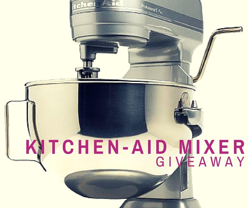 Kitchenaid mixer (1)