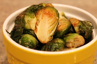 Roasted Brussels (1)