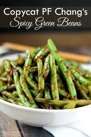 Copycat PF Chang's Spicy Green Beans