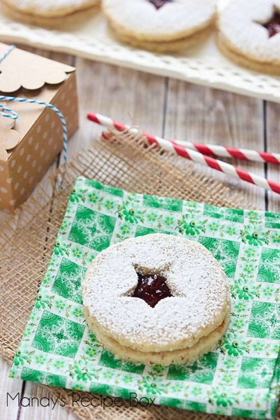 Linzer Cookies by Mandy's Recipe Box