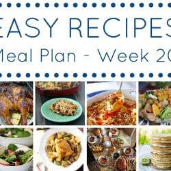 Meal Plan week 20 - square