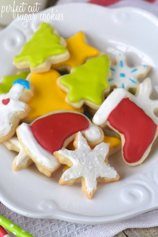 perfect cut sugar cookies by wine glue - Best Christmas Cookies Recipes
