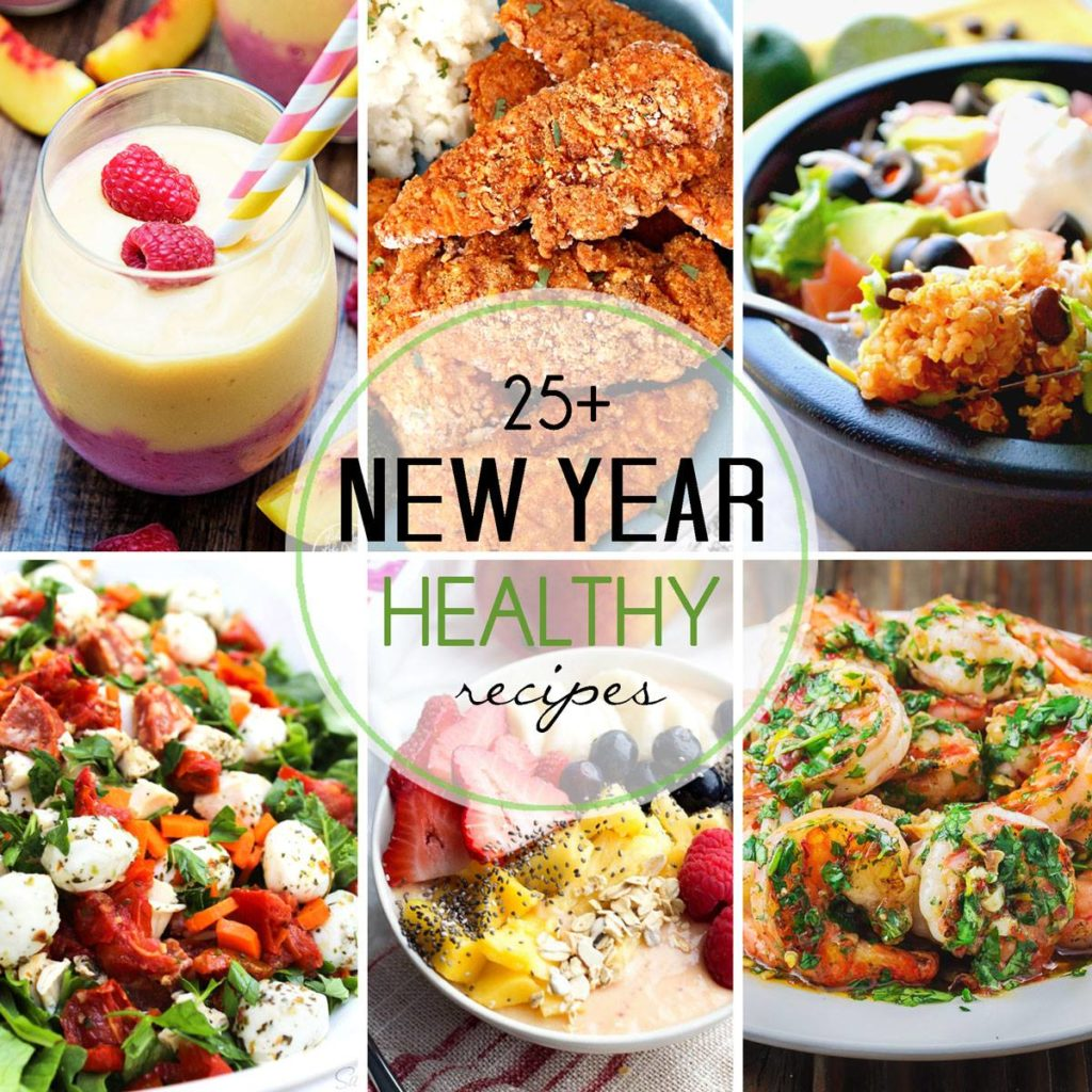 30+ Healthy New Year's Resolution Recipes to get you on the right track for the new year!