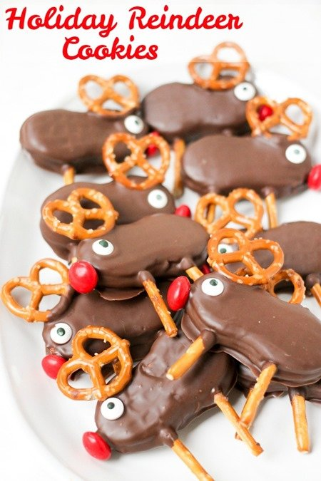 Holiday Reindeer Cookies 2
