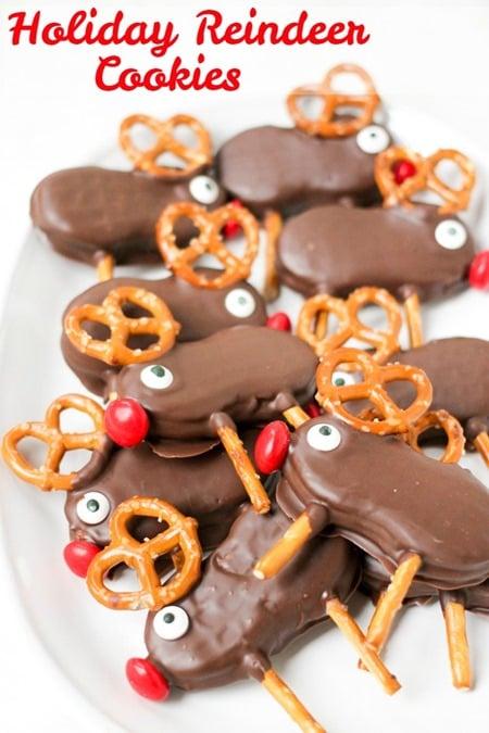Holiday Reindeer Cookies 2