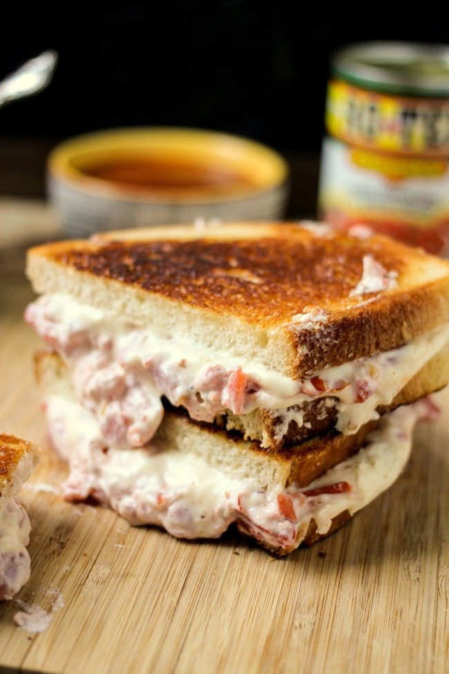 Spicy Tomato Grilled Cheese and Easy Tomato Soup is the perfect comfort dinner!
