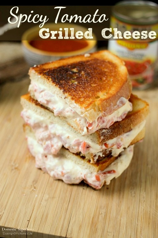 Spicy Tomato Grilled Cheese and Easy Tomato Soup is the perfect ...