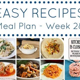 Meal Plan week 28 - square