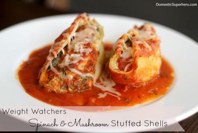 Stuffed Shells- Weight Watchers (8)