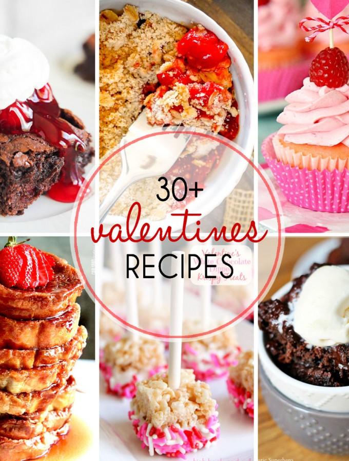 30+ Valentine's Recipes