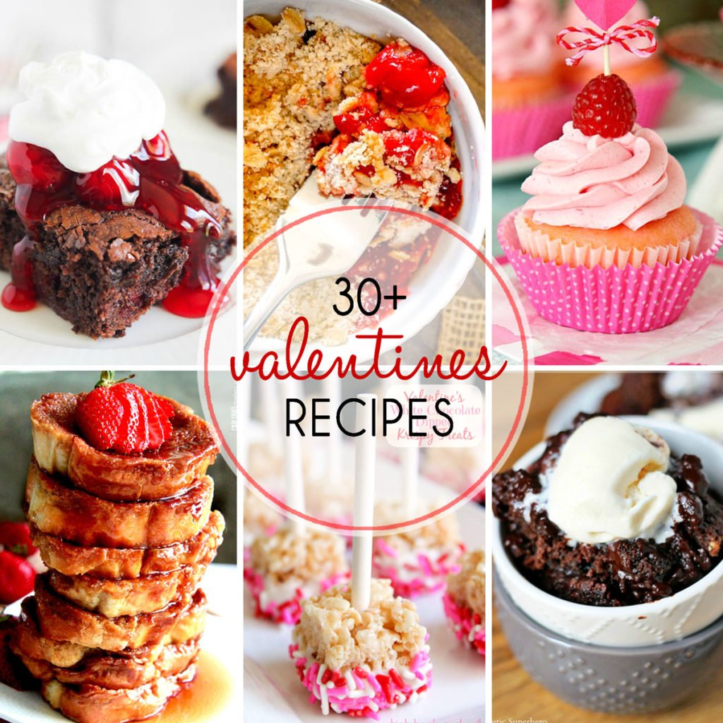 30+ Valentineu0027s Recipes   Everything From Breakfast To Dessert! These  Recipes Are Sure To