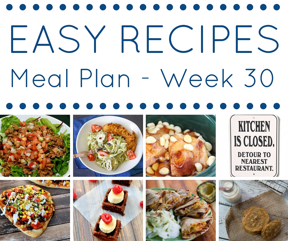 Meal Plan week 30 - square