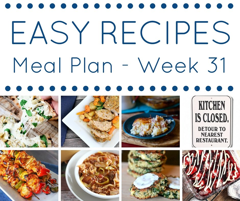 Meal Plan week 31 - square