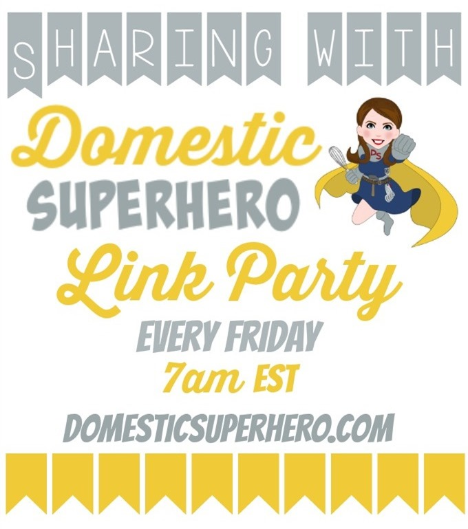 Sharing with Domestic Superhero Graphic