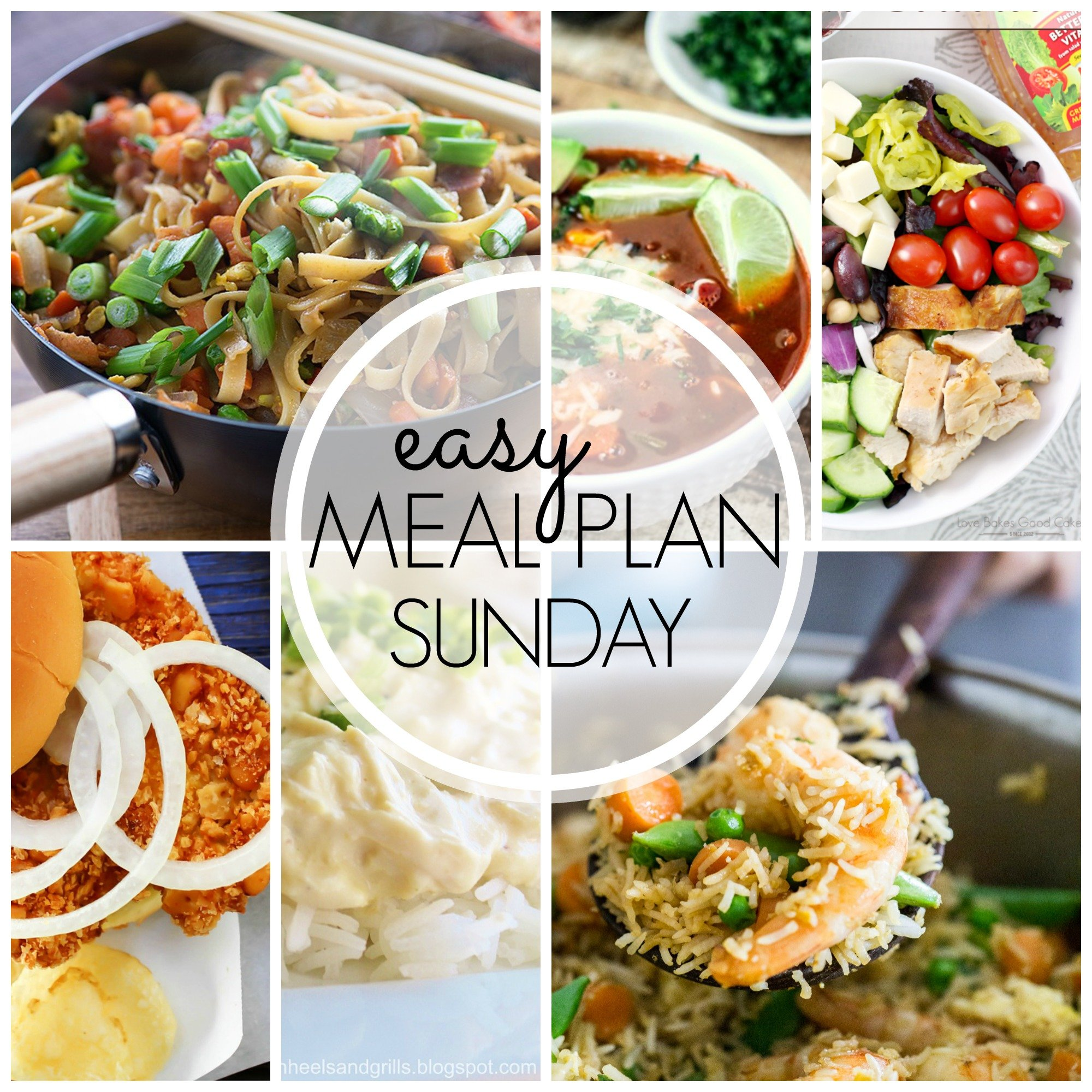 EASY MEAL PLAN – Week 42 - 7 delicious dinners and 2 desserts!