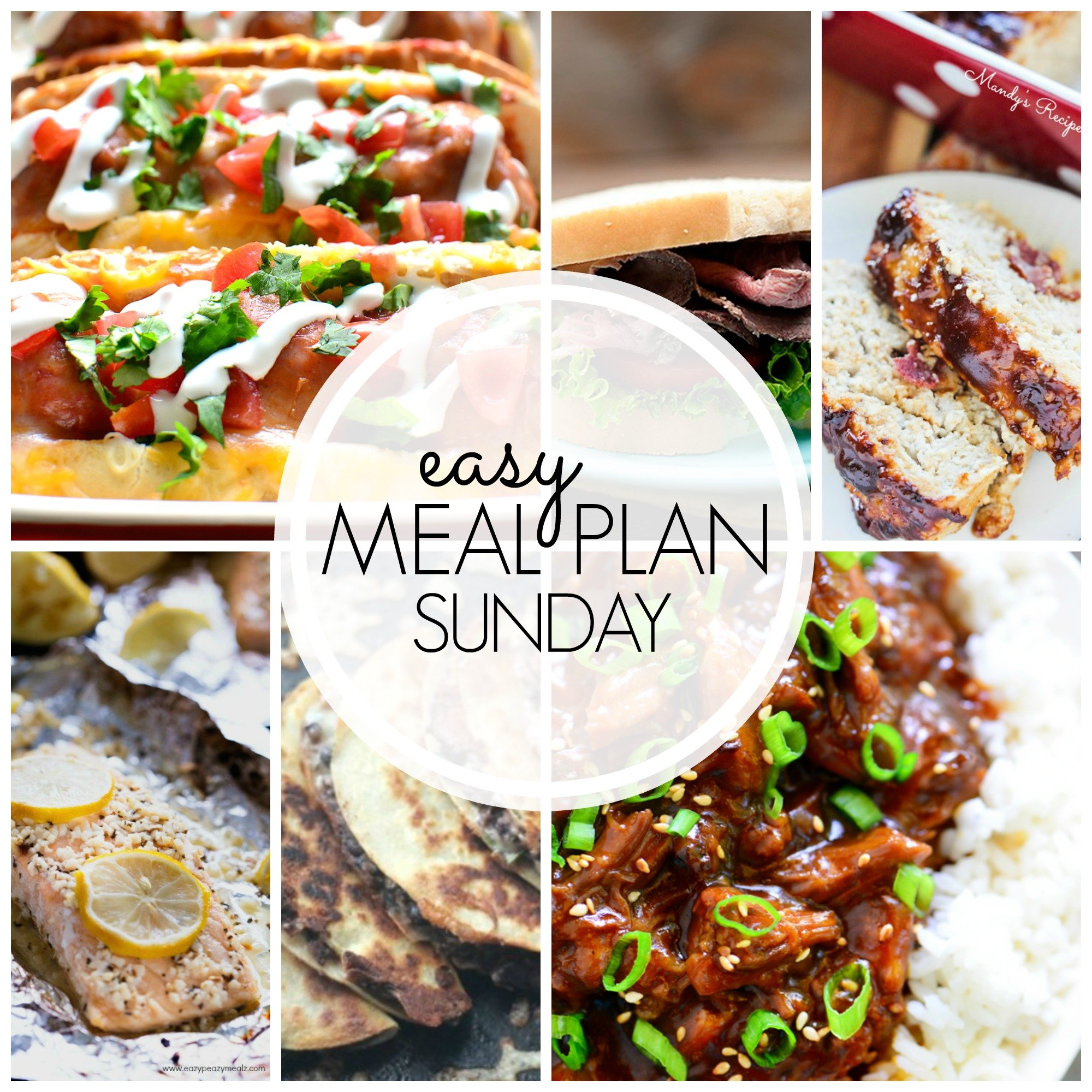 EASY MEAL PLAN – Week 44 - 7 delicious dinners and 2 desserts!