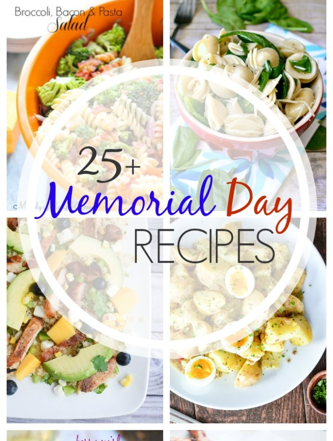 25+ Memorial Day Recipes